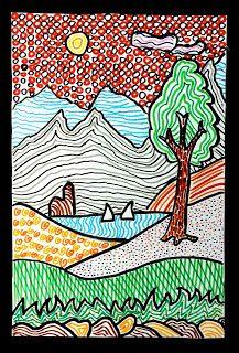 arteascuola: Landscapes of texture. Une professeure d'art italienne tient ce blog pour ses élèves de collège.