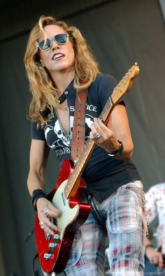 Sheryl Crow, this bitch is bad