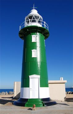 Lighthouse in Fremantle, Australia