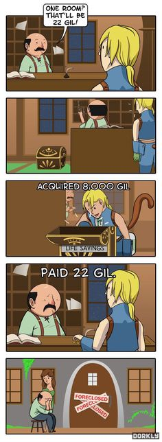 This makes me feel really bad for looting treasure chests in video games :(