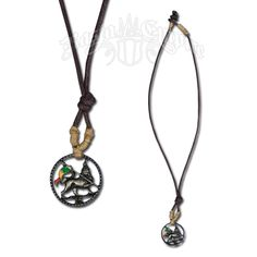 Rasta Lion of Judah Pendant Necklace