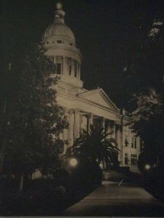 Night view of the Old Fresno Courthouse!