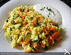 Hirsepfanne mit Joghurtsoße, ein leckeres Rezept aus der Kategorie Gemüse. Bewertungen: 245. Durchschnitt: Ø 4,4.