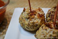 Quinoa Turkey Meatballs - perfect to make and freeze