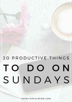 Want to have a less stressful week? Sunday is the perfect day to hit the reset button, get organized, and start your week on the right foot. Here are 20 Easy Ways To Prepare For The Week On Sunday! Sunday Routine, Night Routine, Productive Things To Do, Productive Day, Productivity Hacks, Increase Productivity, Time Management Tips, Stress Management, Work Life Balance