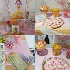 A Beauty and the Beast themed baby shower!