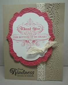From My Heart--love this stamp set!  by:  Jackie Bolhuis, Stampin' Up! Demonstrator