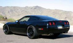 C4 Corvette lowered