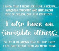 ***Invisible Illnesses and Chronic Pain