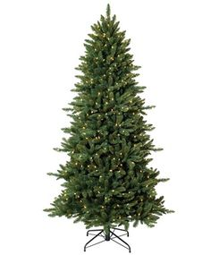 $480 / If space is a concern, you can fill the narrowest corner this Christmas with our pre-lit Pine Crest Slim Spruce.