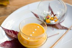 To celebrate Thanksgiving, Le Cordon Bleu Chefs suggest this elegant soup with autumn notes to ease into winter.