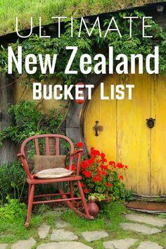 Was Ihr in Neuseeland auf keinen Fall verpassen dürft! Liste komplett oder fehlt was? #sprachreisen #neuseeland   Kolumbus Sprachreisen http://www.kolumbus-sprachreisen.de