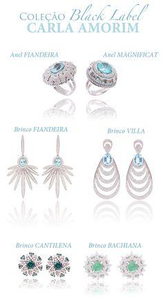 Carla Amorim.  #couture #jewelry #fashion