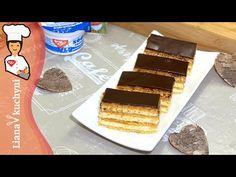 Bezlepkové medové rezy - YouTube Tiramisu, Gluten Free, Ethnic Recipes, Youtube, Food, Glutenfree, Hoods, Meals, Youtubers