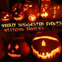 Suggested Events for October 25th-31st, 2014