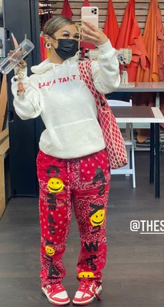 Swag Outfits For Girls, Cute Swag Outfits, Dope Outfits, Retro Outfits, Fashion Outfits, Baddie Outfits Casual, Stylish Outfits, Tomboy Fashion, Streetwear Fashion
