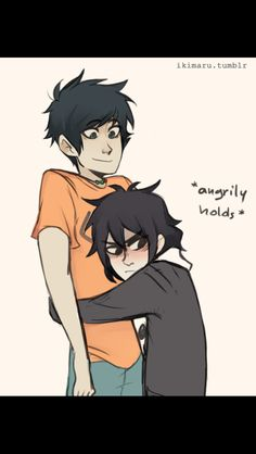 Nice is so small it's so cute btw I ship percabeth but it's cute