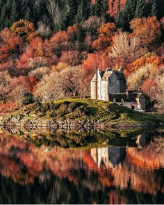 Autumn in Scotland.