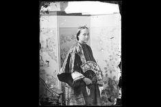Portrait of young Chinese woman, 19th century China, by John Thomson, Scottish photographer, 1868-72