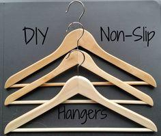 DIY Non Slip Hangers