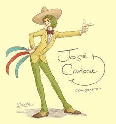 Jose Carioca by *chacckco on deviantART