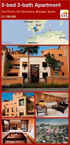 5-bed 3-bath Apartment in San Pedro De Alcantara, Malaga, Spain ►€1,100,000 #PropertyForSaleInSpain