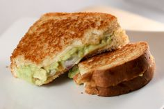Gimme some of that! Guacamole Grilled Cheese
