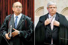 O procurador-geral da República, Rodrigo Janot, rebateu nesta quarta-feira (22) as acusações feitas pelo ministro Gilmar Mendes, do STF (Supremo Tribunal Federal).