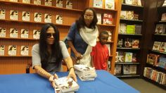 Book signing with Sheila E.