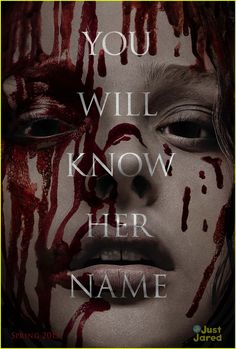 Blood drips down Chloe Moretz's face in a newly revealed poster for the upcoming remake of Carrie. The film is  out early 2013.