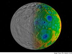 Missing Craters on Dwarf Planet Ceres Intrigue Scientists - NDTV