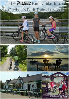 Considering a family bike trip but not sure where to go? Check out Québec's Petit Train du Nord. Travel With Kids, Family Travel, Prince Edward Island, Quebec City, Family Adventure, Canada Travel, Plan Your Trip, Outdoor Travel, Where To Go