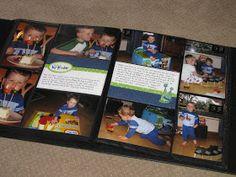 Clean & Scentsible: Scrapbook Saturday No. 2 - Quick and Easy Scrapbooking