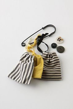 Need to make these little bags for buttons....