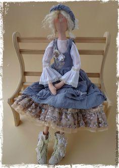 Купить Куклы Тильды ручной работы. В стиле Бохо. - бежевый, куклы ручной работы