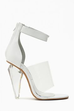 Jeffrey Campbell Not There Sandal: Hot Trend: Lucite Heels - Lookbooks, Photos   ModaMob