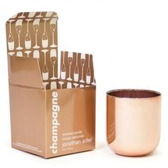 Champagne Pop Candle- love this, it would make a great surprise crappy day present, too.