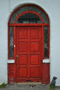Door found in Ireland which she one day wishes to paint