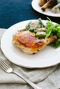 How To Make Quick Weeknight Roast Chicken And Salad