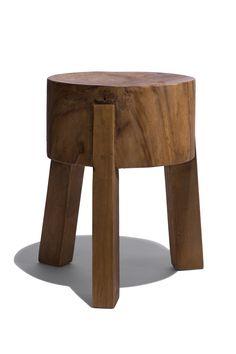 Abbatoir Table Stool Natural / Industry West 125 http://www.industrywest.com/shop/stools/abattoir-table-stool/abbatoir-table-stool.html