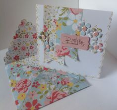 Designed by Julie Hickey Envelope Punch Board, Envelope Art, How To Make An Envelope, Craftwork Cards, Handmade Envelopes, Craft Work, Hobbies And Crafts, I Card, Christmas Cards