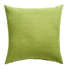 One of my favorite discoveries at ChristmasTreeShops.com: Solid Green Indoor/Outdoor Square Throw Pillow