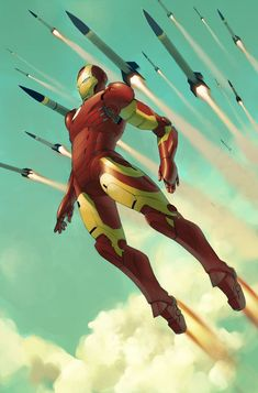 Iron Man - best super hero in the history of ever!