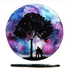 Beautiful artwork by @danielle_foye by art_realisme