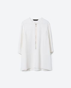 £29.99 Image 8 of A-LINE BLOUSE from Zara