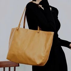 "Material: Cowhide Color: Tan Dimensions:Inches: Height 11"" x Width 12.6""-17.7"" x Depth 5.1"" Inches Backpack Bags, Tote Bags, Shopper Tote, Vintage Bags, Purses And Bags, Backpacks, Leather Totes, Handmade Leather, Cartier"