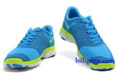 Billig Schuhe Damen Nike Free 5.0 V4 (Farbe:Vamp&innen-blau,logo-grun;Sohle-weiB) Online Laden.