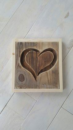 Barn wood heart.