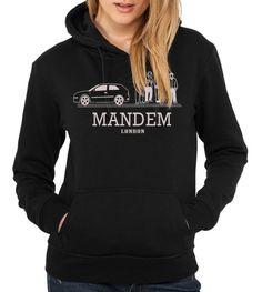 Mandem - Womens Black Hoody