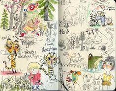 Fabulous Drawing On Creativity Ideas. Captivating Drawing On Creativity Ideas. Book Illustration, Character Illustration, Art Sketches, Art Drawings, Art Journal Pages, Arte Sketchbook, Art Diary, Sketchbook Inspiration, Art Studies
